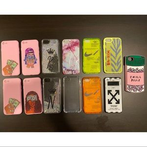 Assorted IPhone 6/7/8 Cases